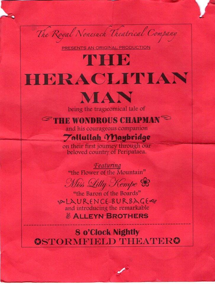 Heraclitian Man 1